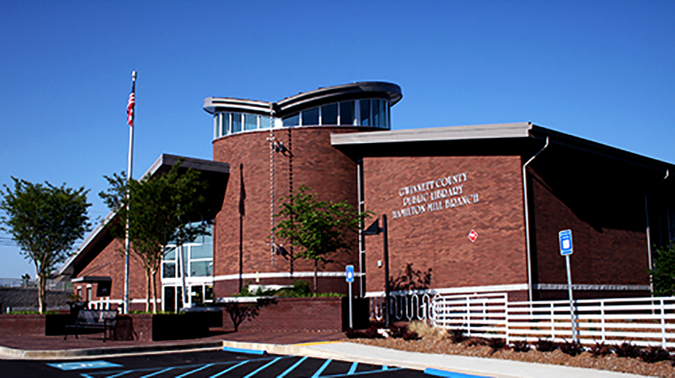 Gwinnett County Hamilton Mill Library Raymond Engineering