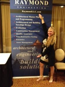 Terri Collins USMC_Vanna White pose