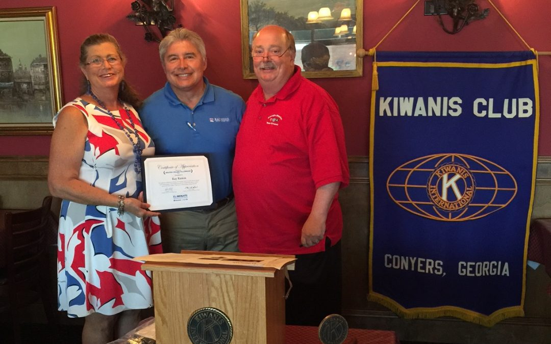 Ray Ramos awarded distinguished Kiwanis Walter Zeller Award
