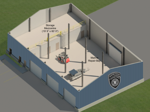 Savannah Chatham County Marine Patrol Building